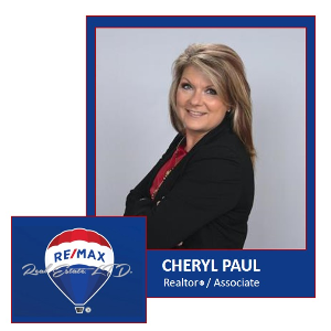 RE/MAX Real Estate, LTD. Cheryl Paul